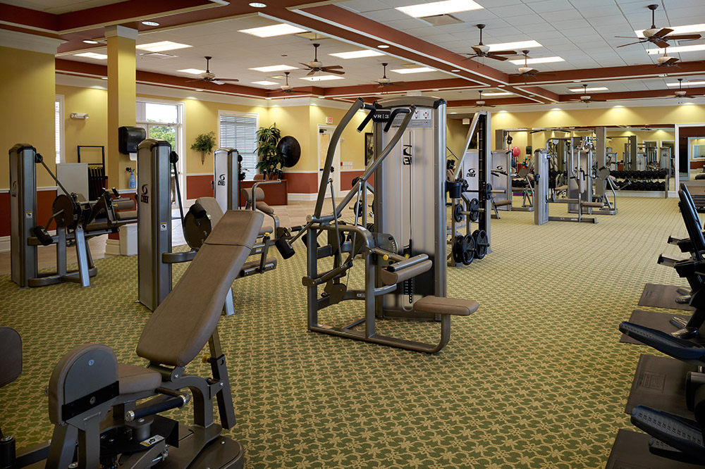 River Hall Fitness Facilities