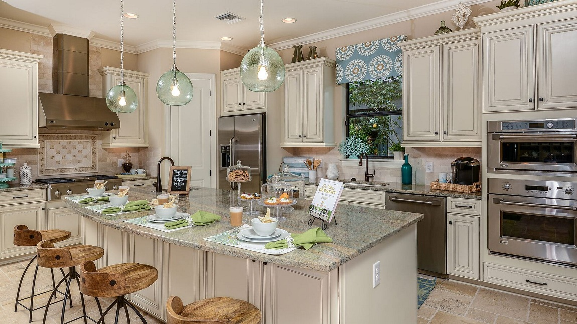 Taylor Morrison Lazio Model Home in River Hall