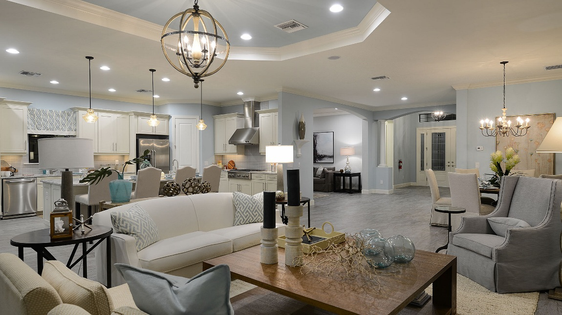 Taylor Morrison Pallazio Model Home in River Hall