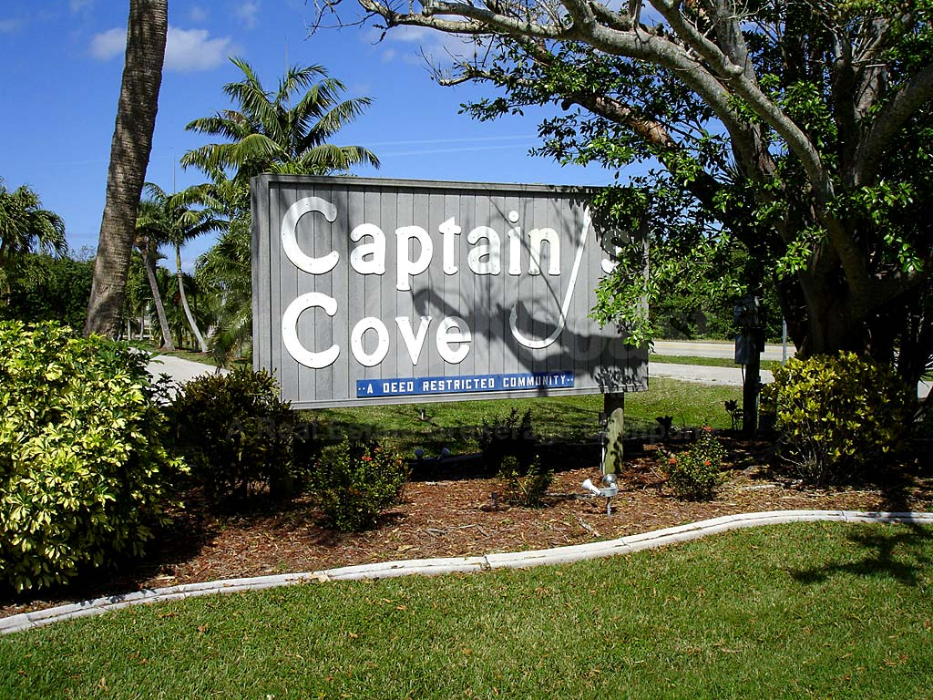 Captains Cove Signage