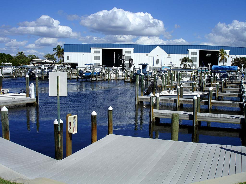 Four Winds Condos Boat Docks