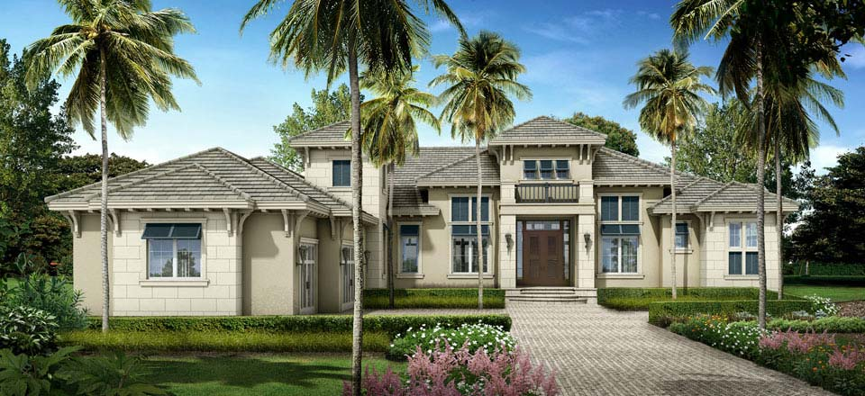 Ellenton Model Home in Bay Woods, Stock Construction