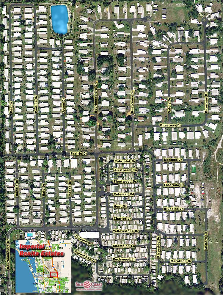 Imperial Bonita Estates Overhead Map