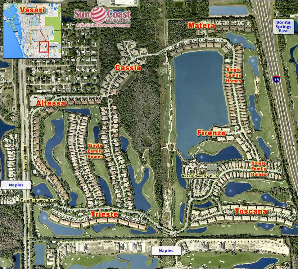 Vasari Overhead Map