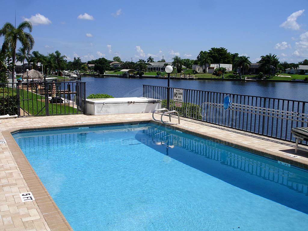 Aqua Vista Community Pool and Canal