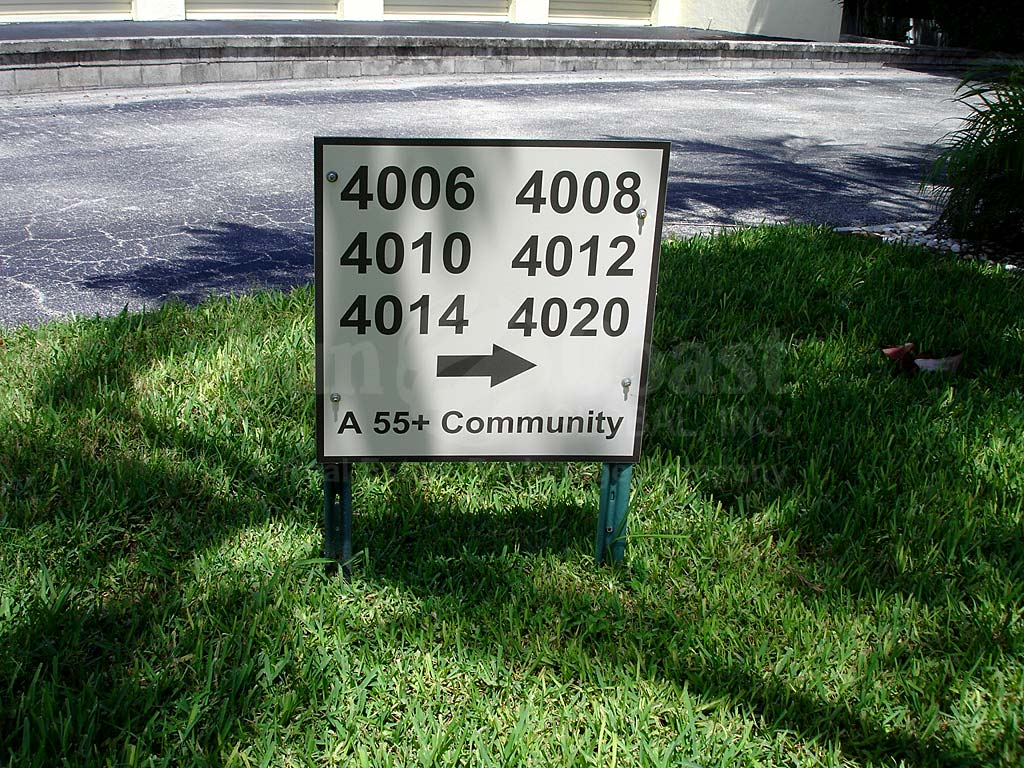 Cape Colony Condo Signage