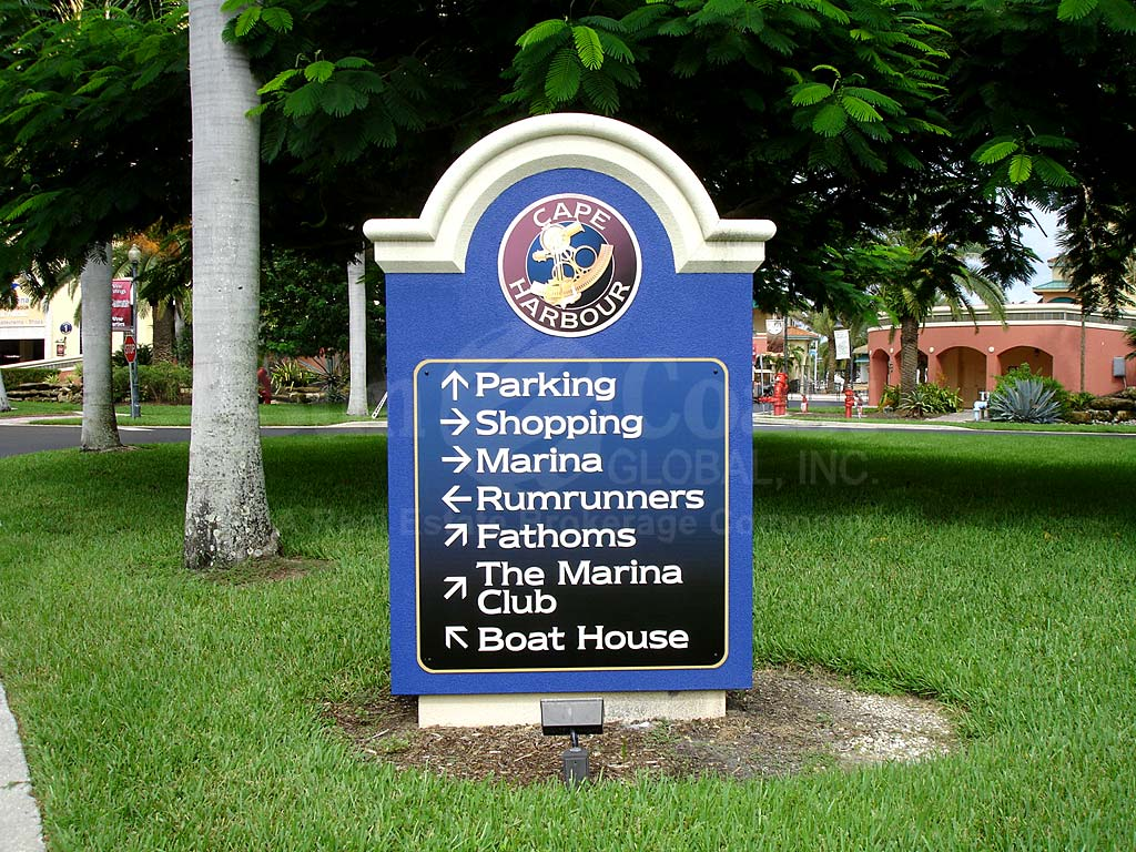 Cape Harbour Signage