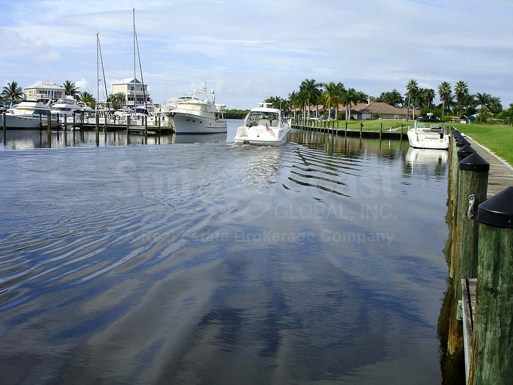 View of Waterway From Cape Harbour