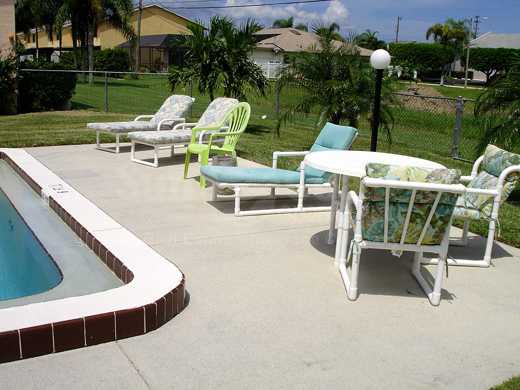 Cape Parkway Community Pool and Sun Deck Furnishings