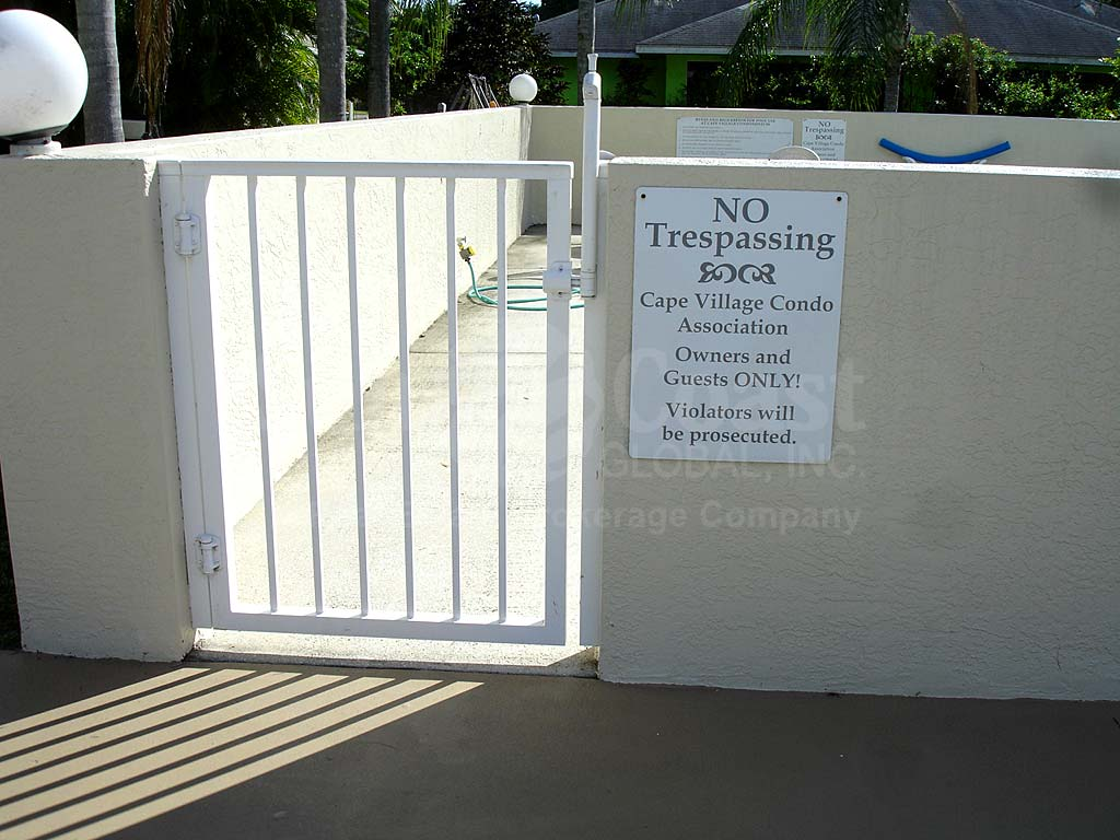 Cape Village Community Pool Safety Fence