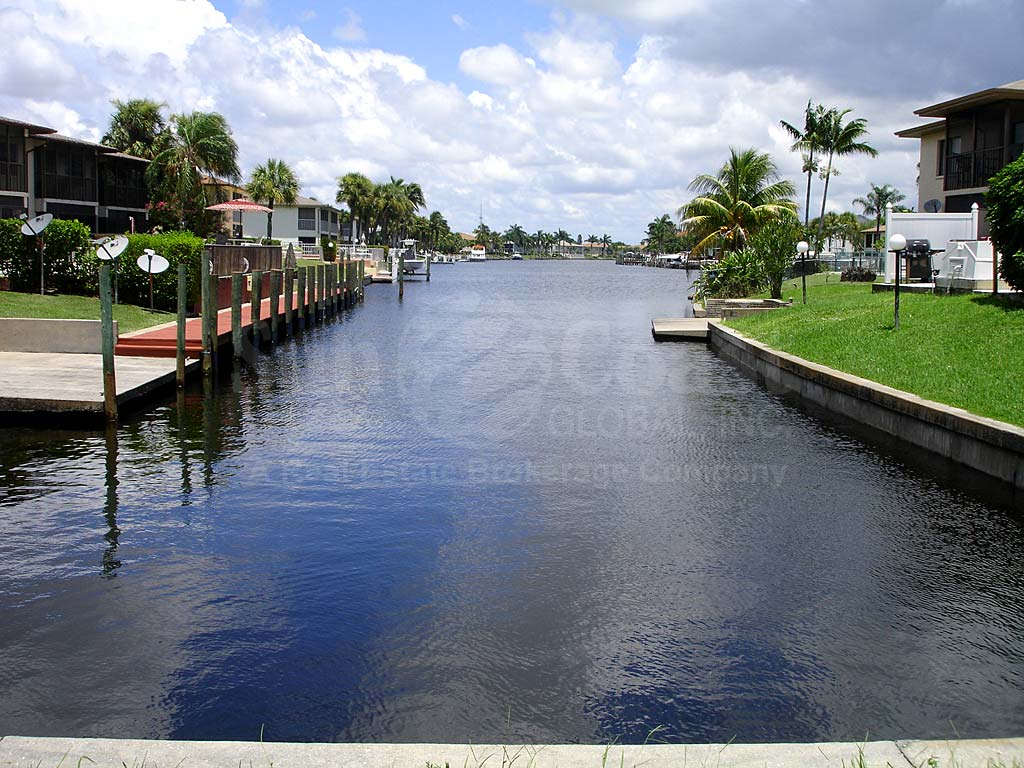 View Down the Canal From Casa De Rubican