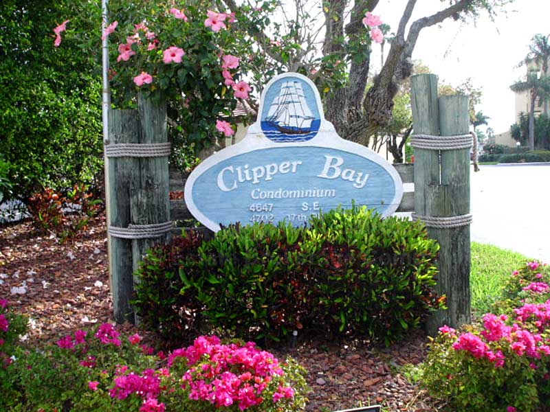 Clipper Bay Signage
