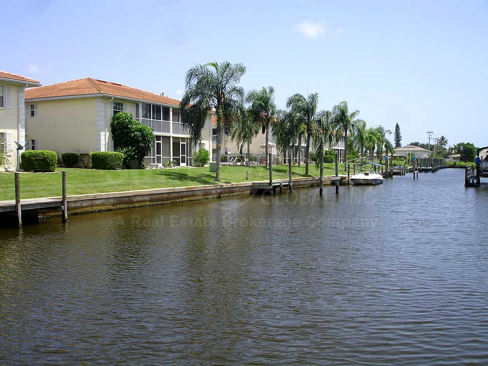 View Down the Canal From Club Abaco