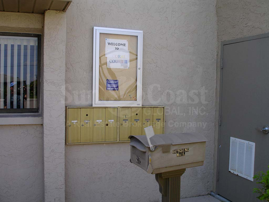 Coral Court II Postal Boxes