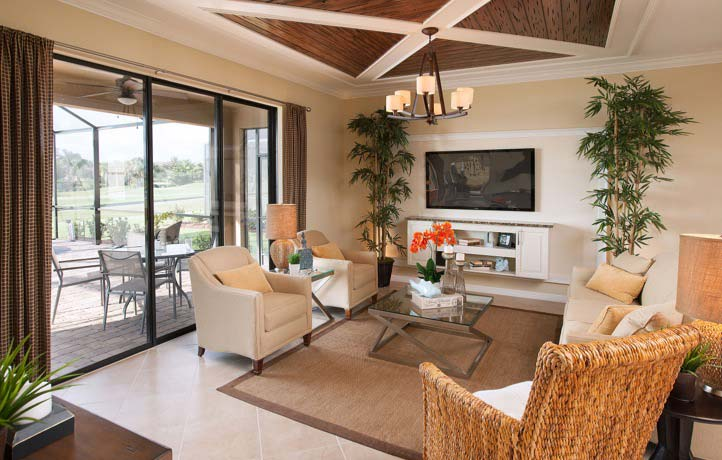 Hampton Model Home in Coral Lakes, Cape Coral by Lennar