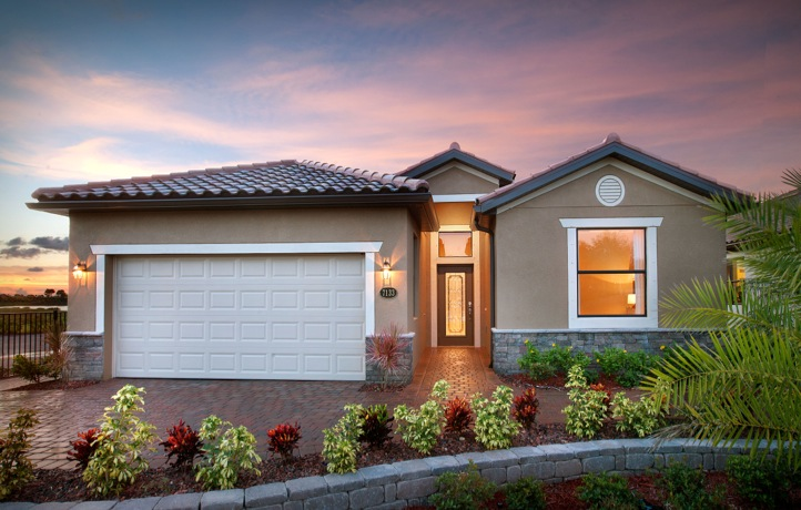Trevi Model Home in Coral Lakes, Cape Coral by Lennar