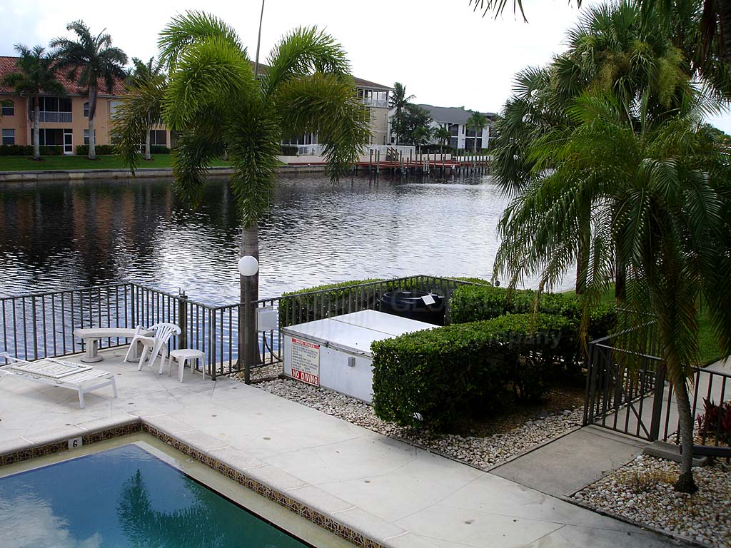 Country Club Place Community Pool and Canal