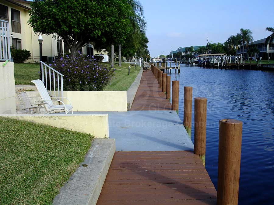 View Down the Canal From 46 Dockside
