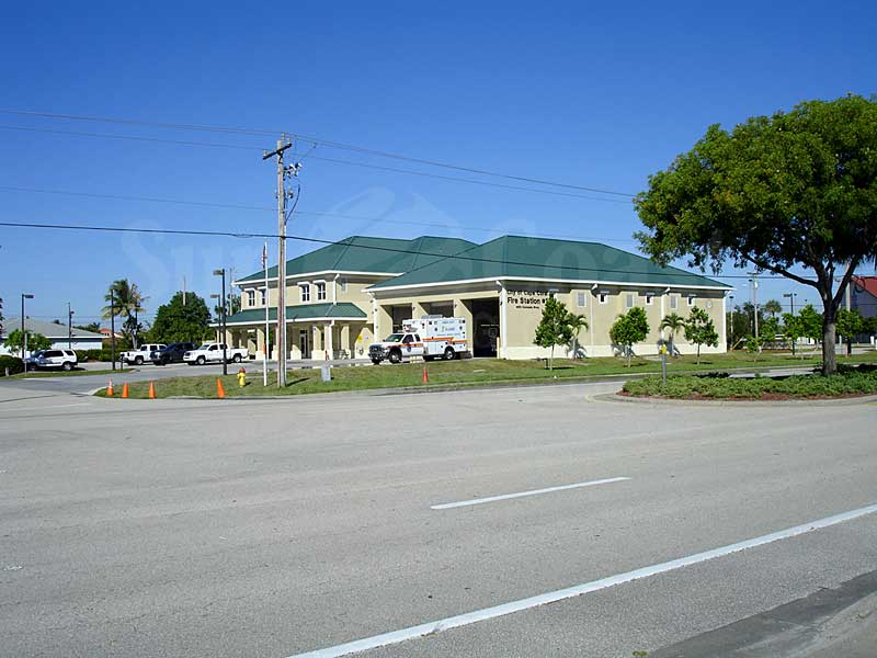 Downtown Cape Coral Condos Fire Station