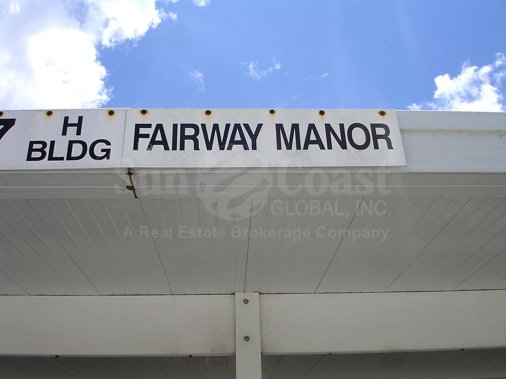 Fairway Manors Signage