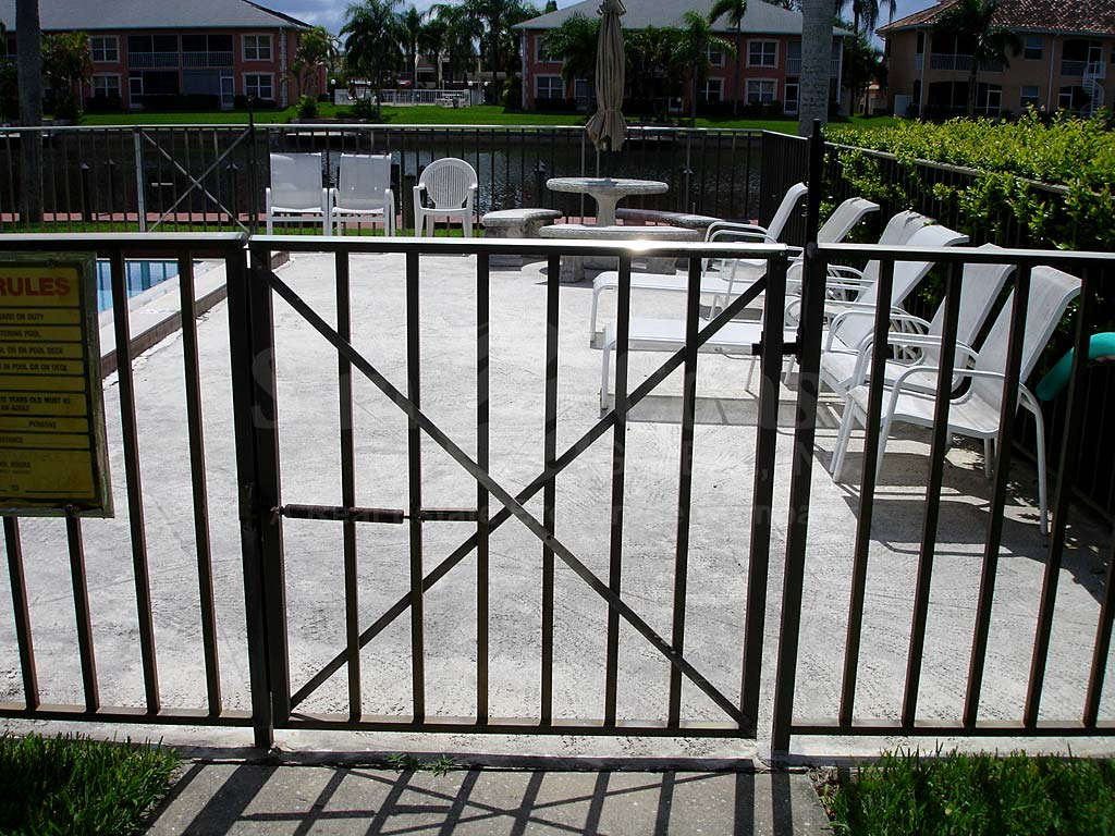 Fairway Manors Community Pool Safety Fence