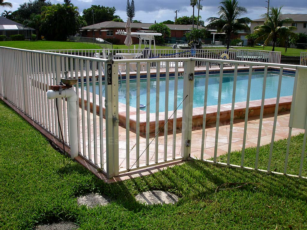 Falcon Bay Community Pool Safety Fence