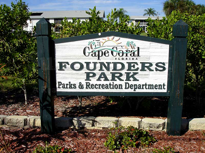 Downtown Cape Coral Condos Signage