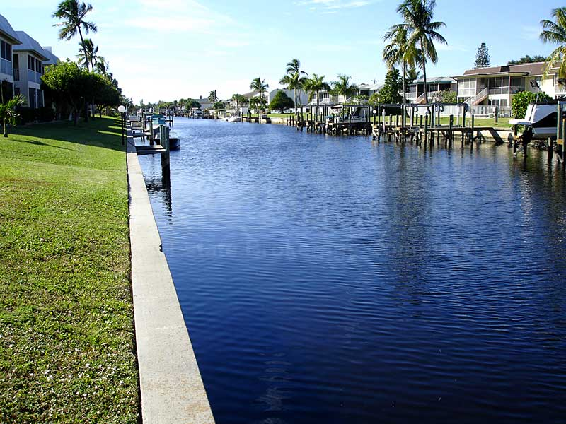 View Down the Canal From Founders Park