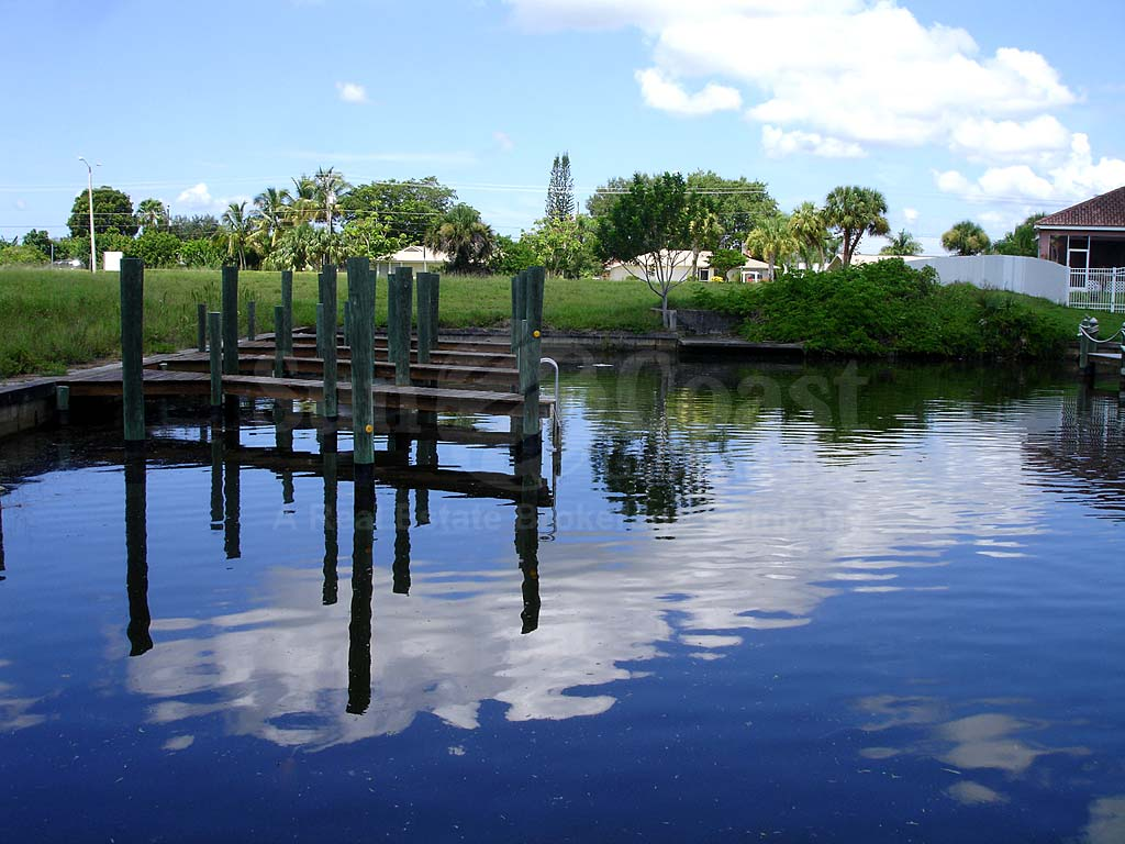 View Down the Canal From Grand Haven Cove