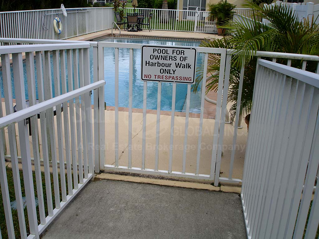 Harbour Walk Community Pool Safety Fence