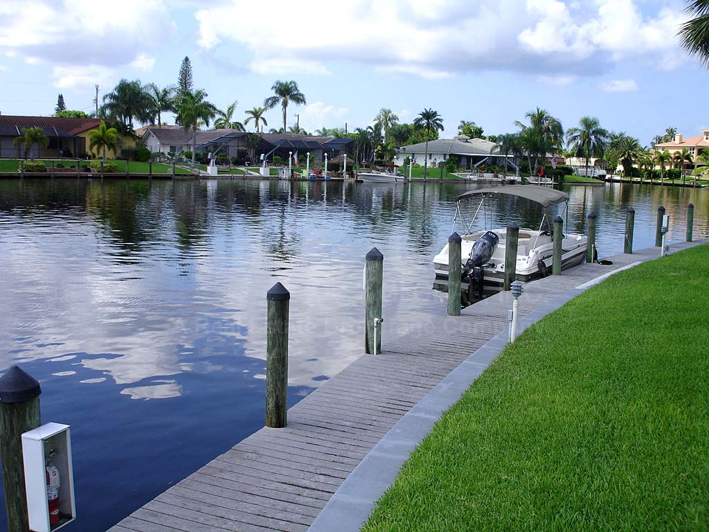 View Down the Canal From Horizon Bay