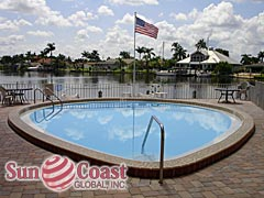 Horizon Bay Community Pool and Canal