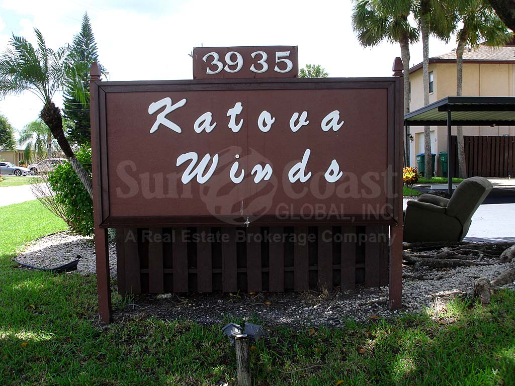 Katova Winds Signage
