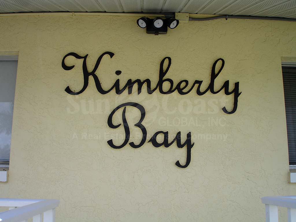 Kimberly Bay Signage