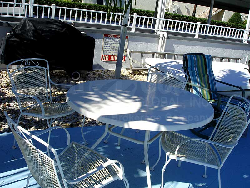 Lord James II Community Pool and Sun Deck Furnishings