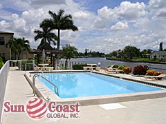 Manatee Bay Community Pool and Canal
