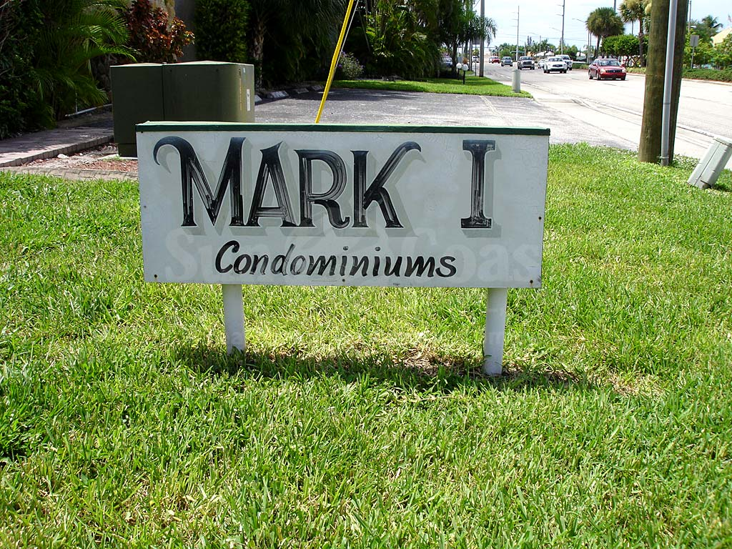 Mark 1 Condominiums Signage