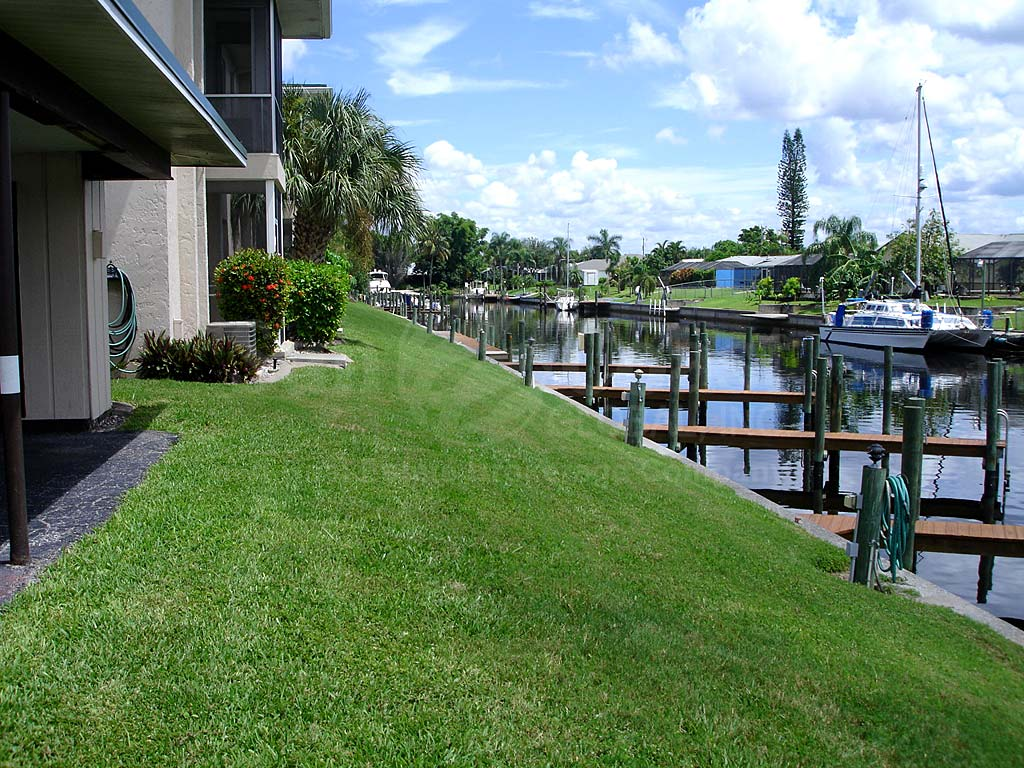 View Down the Canal From Mark 1 Condominiums