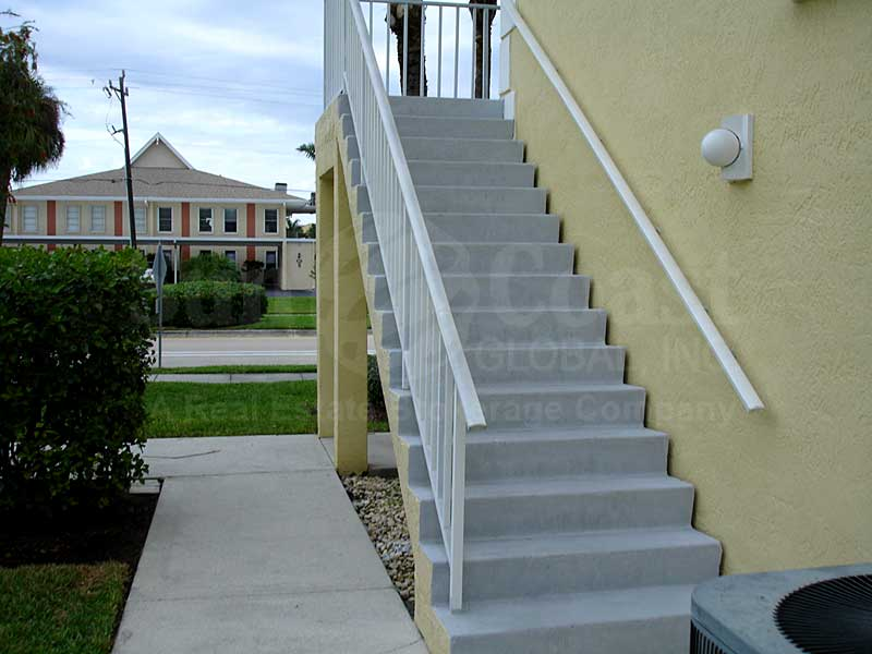 Ocean Isle Riverview Staircase