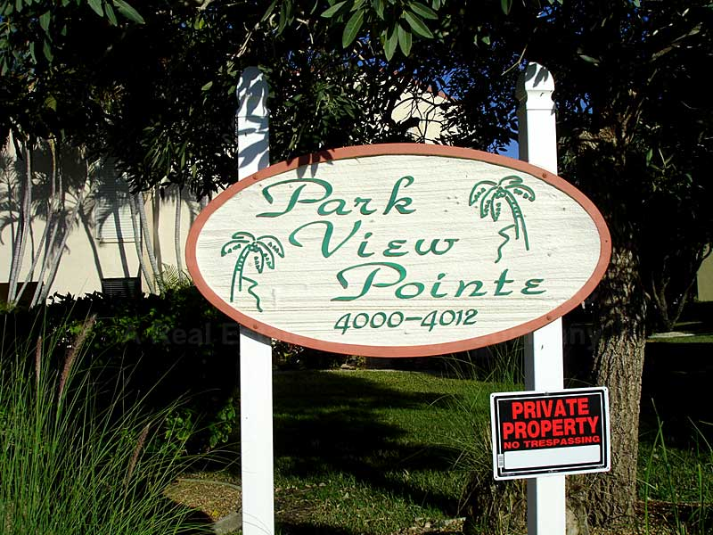Park View Pointe Signage