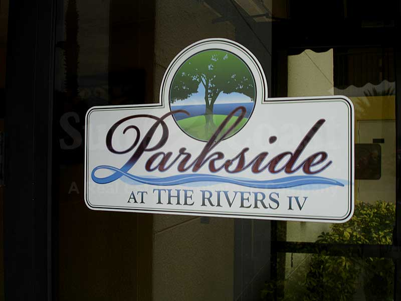 Parkside At The Rivers IV Signage
