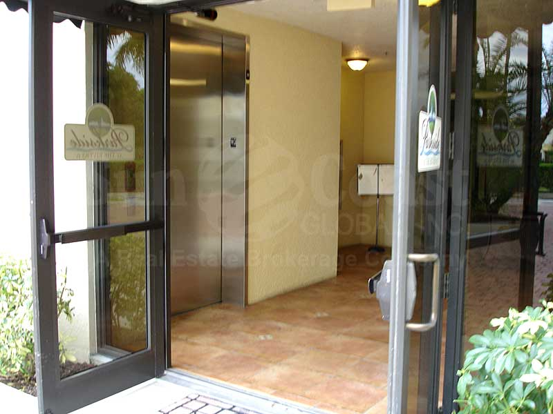 Parkside At The Rivers IV Entrance and Elevator