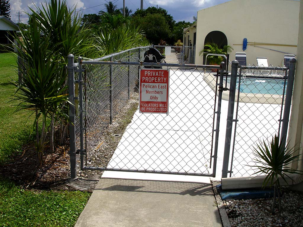 Pelican East Community Pool Safety Fence