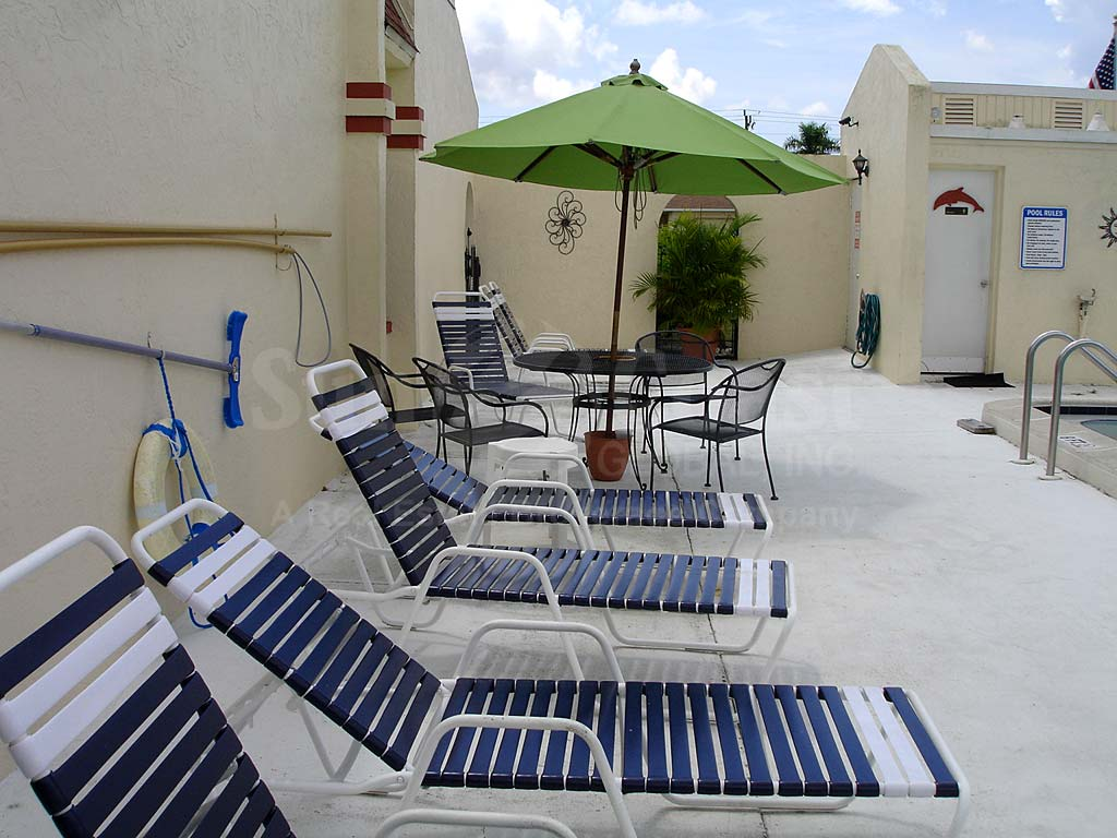 Pelican East Community Pool and Sun Deck Furnishings