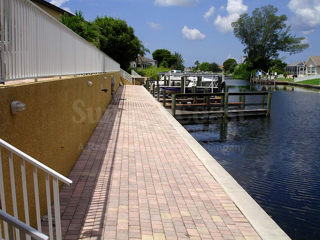 View Down the Canal From Pelican Marina