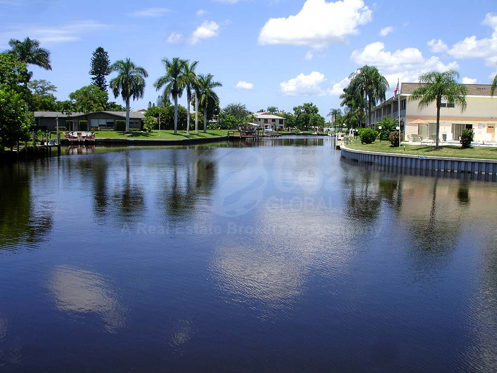View Down the Canal From Pelican Point