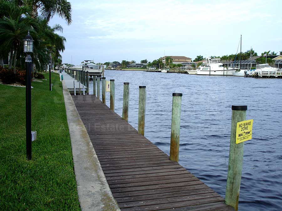 View Down the Canal From River Harbor Club