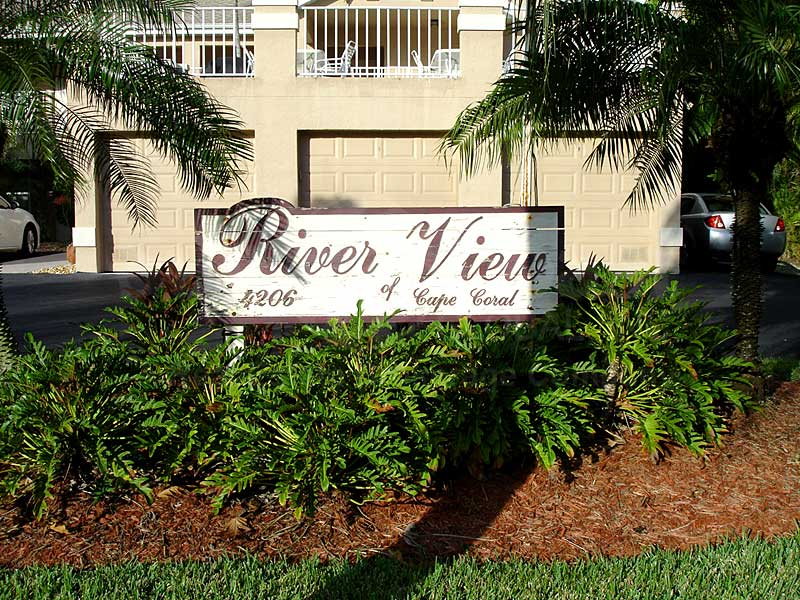 River View Signage