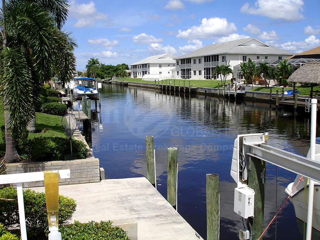 View Down the Canal From Seabreeze