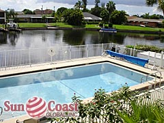 Sunrise Bay Community Pool and Canal